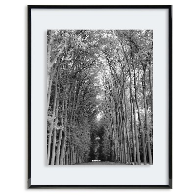 Skinny Black Gallery Float Frame - Holds up to an 8x10 photo
