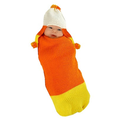 Infant Candy Corn Bunting Costume - 0-3 M