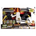 Xshot Zombie Stalker Bow And Arrow Blaster With Cans