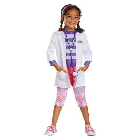 Toddler / Child Doc McStuffins Deluxe  Costume - M