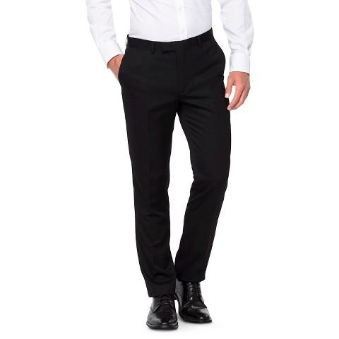 Men's Slim Fit Suit Pants Black - WD·NY Black