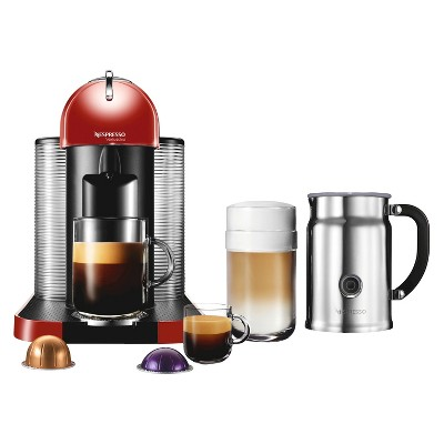 Nespresso VertuoLine Coffee and Espresso Machine with Aeroccino Milk Frother