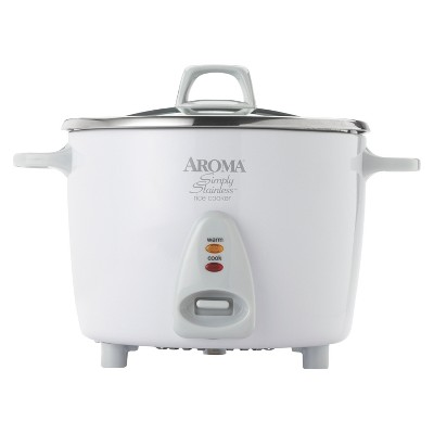Aroma 20-Cup Simply Stainless Rice Cooker