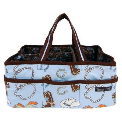 Trend Lab Diaper Storage Caddy - Cowboy Baby