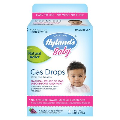 Hyland's Baby Gas Drops - 1 oz
