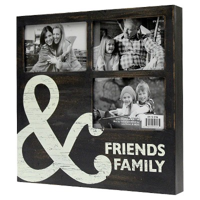 3-Opening Collage - Friends & Family 4x6 - Black