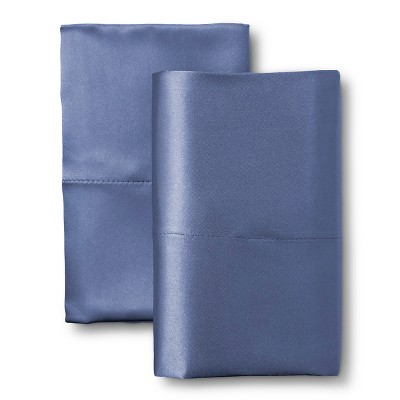 Scent-Sation Charmeuse II Satin Pillow Case - French Blue (Standard/Queen)