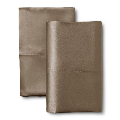 Scent-Sation Charmeuse II Satin Pillow Case - Mocha (Standard/Queen)