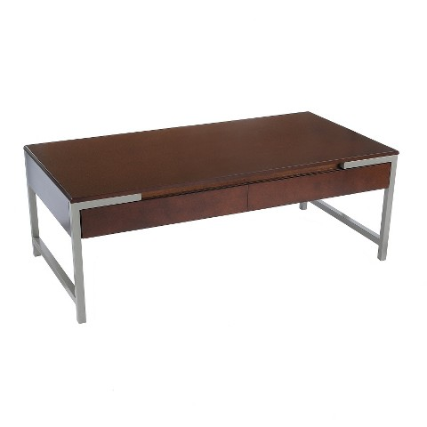 Bay Shore Collection Modern Coffee Table With Dr Target