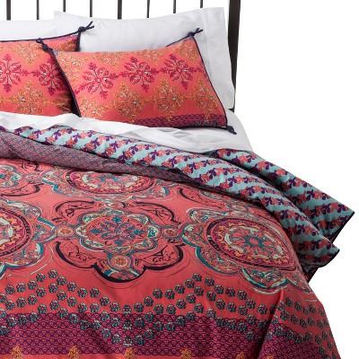 Duvet Cover Set Boho Boutique KING Multicolor