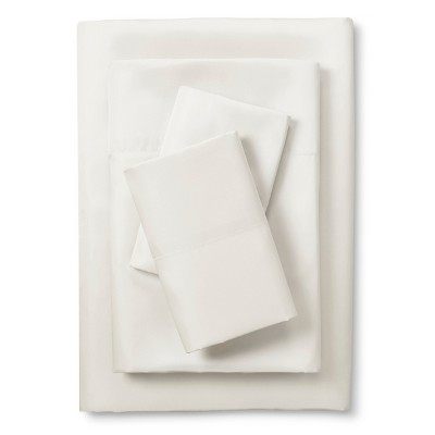Scent-Sation Whispersilk 340TC Satin Sheet Set - Bone (Queen)