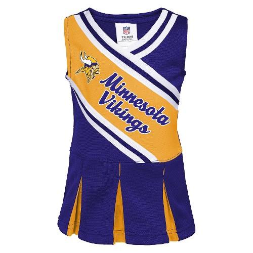 Minnesota Vikings Infant Toddler Cheerleader Dress
