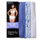 Beauty by Bali® Women's Cottony Bliss Briefs 3-Pack