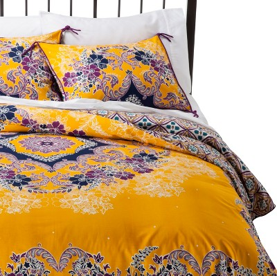 Duvet Cover Set Boho Boutique FULL/QUEEN Multicolor