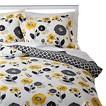 Textured Floral Comforter Set