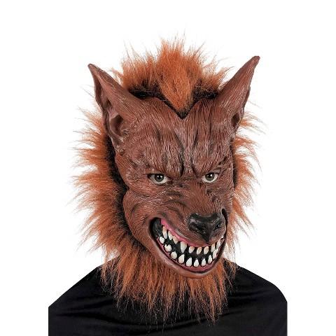 Adult Scary Werewolf Mask - OSFM