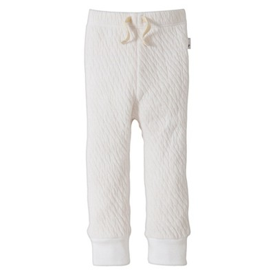 Burts Bees Baby™ Newborn Fashion Pants - Cloud 6-9 M