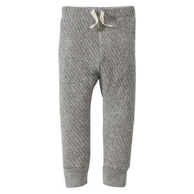 Burts Bees Baby™ Newborn Fashion Pants - Hthr Grey 18 M