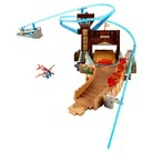 Disney Planes Fire and Rescue Fire at Fusel Lodge Track Set