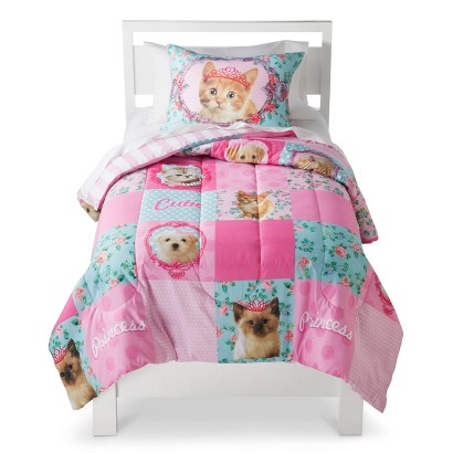 Princess Kitty Comforter Set - Full/Queen