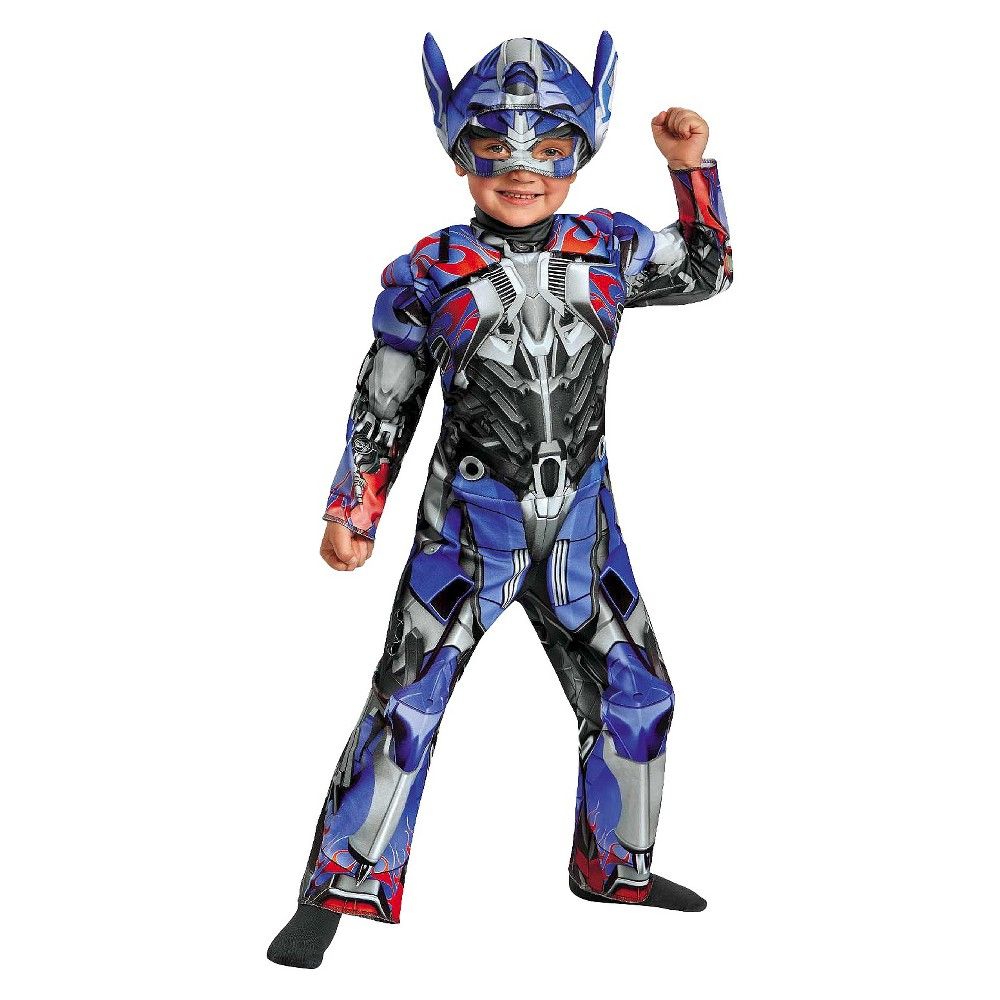Boy's Transformers Age of Extinction - Optimus Prime Toddler Muscle Costume - 2T