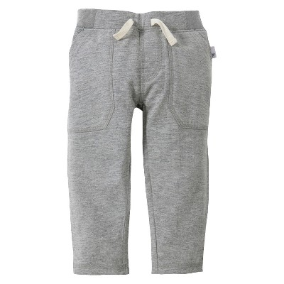Burts Bees Baby™ Newborn Pull-on Pants Heather 12 M