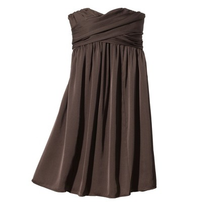 TEVOLIO™  Women's Satin Strapless Bridesmaid Dress - Limited Availability Colors