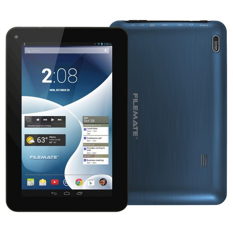 """FileMate Clear X4 7"""" T750 Quad-Core 16GB Tablet - Assorted Colors"""