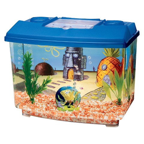 5 gallon fish tank target water world radius desktop 7 5 for Spongebob fish tank accessories