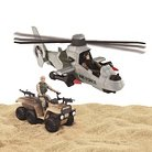 Elite Force Stealth Attack Helicopter Playset