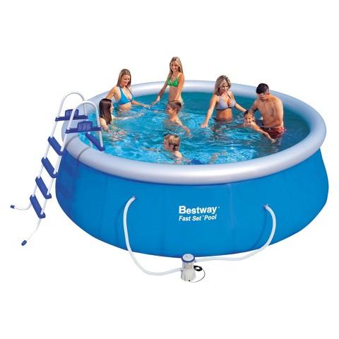 Bestway Fast Set Pool Set Blue 15 Foot Target