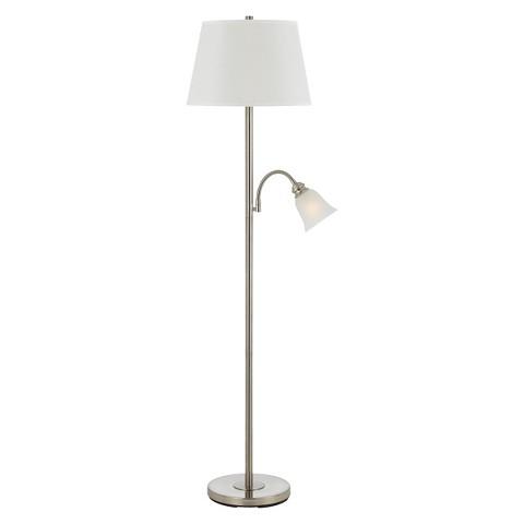 Metal floor lamp with goosneck reading lamp target - Gooseneck floor lamps for reading ...
