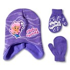 Bubble Guppies Toddler Girls' Hat and Mitten Set