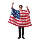Adult USA Flag Costume - OSFM