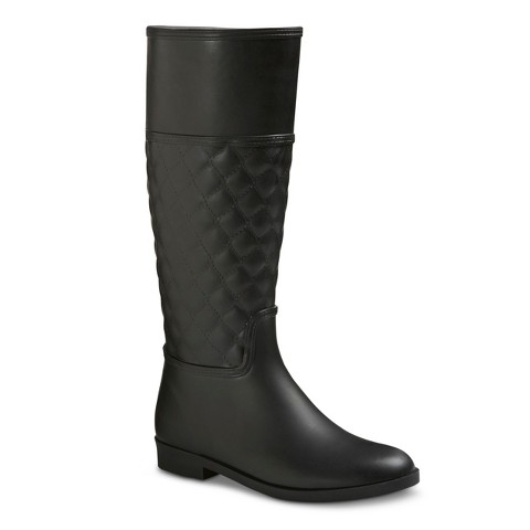 New Women39s Classic Knee High Rain Boots  Target