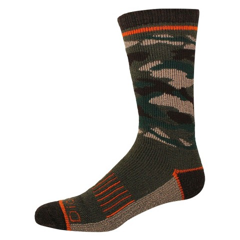 Dickies® Men's All Season Steel Toe 1-Pack Crew Socks