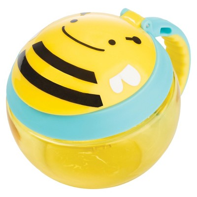 Skip Hop Zoo Little Kids & Toddler Snack Cup - Bee
