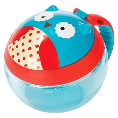 Skip Hop Zoo Little Kids & Toddler Snack Cup - Owl