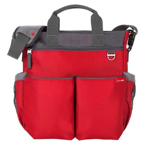 skip hop duo signature diaper bag red target. Black Bedroom Furniture Sets. Home Design Ideas