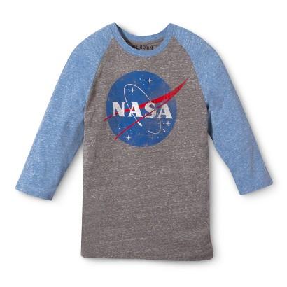 NASA Men's Raglan T-Shirt