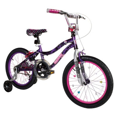 "Monster High Girl's Bike - Purple/Pink (18"")"