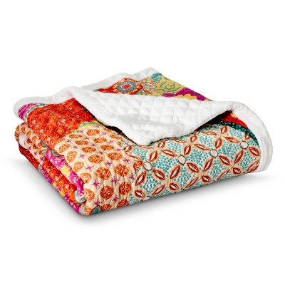 "Barizanz Throw Blanket - Multicolored (50""X60"")"