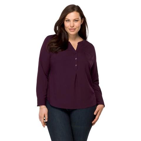 Women'S Plus Size Long Sleeve Blouse 9