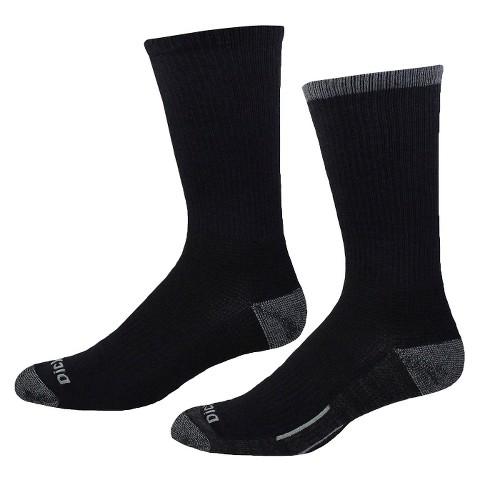 Dickies® Men's Contrast Sole 2-Pack Crew Socks