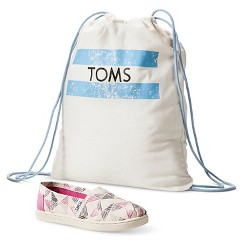 TOMS for Target- Girl's Shoes (includes Drawstring Bag) 13