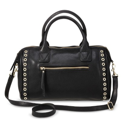 Women's Gold Ring Satchel Handbag