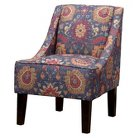 Skyline Hudson Swoop Chair - Ethnic Navy