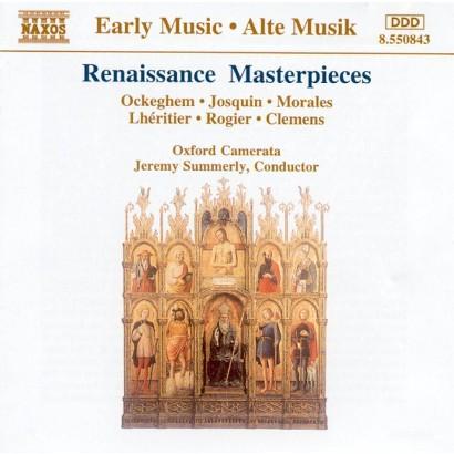 Renaissance Masterpieces Ockeghem Josquin Mor Target