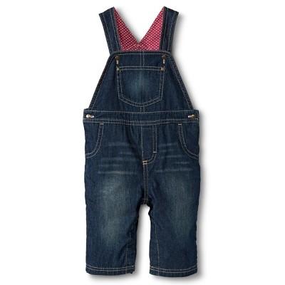 Genuine Kids from OshKosh Newborn Girls Overalls - Denim Blue 18 M