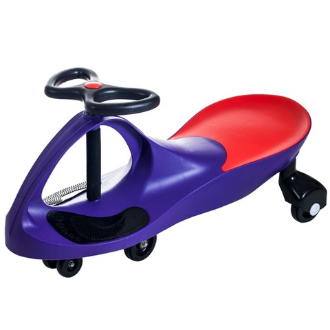 Lil' Rider Wiggle Car Ride on - Purple /Red (8.9 Lb)
